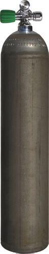 Single AL Cyl. 40cf dirtyBeast(5,7L)207bDiv.Breath.Gas, LEFT exp v.+BP EU Nitrox