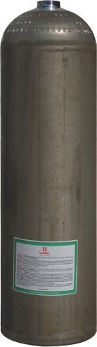 Aluminum Cylinder (ca. 11,1 Liter), 207 Bar,184 mm SO80 Diameter,(Dirty Beast)