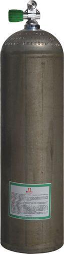 Single AL Cylinder 80cf dirtyBeas(11,1L)207b Div. Breath. Gas Mono V. EU Nitrox