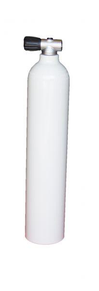 Single AL Cylinder 3 L, 230 barDiving Breathing Gas, Rebreather Valve