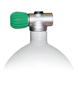 Mono Stahlflasche 2 Liter - 8.5 Liter, 230 Bar Rebreather Ventil M26