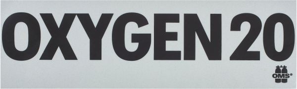 OMS MOD decal, Oxygen 20