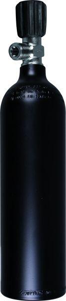 "Single Aluminum Cylinder 0,85 Liter, 200 Bar, Valve ""Inert Gas"""