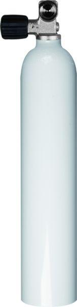 Single Aluminum Cylinder 3 Liter 230 Bar Diving Breathing Gas, Mono Valve