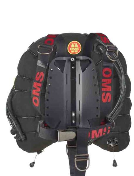 TriesteWing with OMS DIR Harness, OMS Back Pad u. Soft STA m. 2 belts