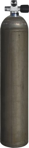 Mono Alufl DirtyBeast 40cf (~5,7L)207bDiving Breathing Gas, RIGHT exp valve+BP