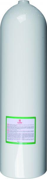Aluminum Cylinder ( ca. 11,1 Liter ), 207 Bar, 184 mmSO80 Diameter,white