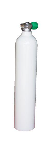 Single AL Cylinder 3 L white, 230 barRebreather Valve EU Nitrox