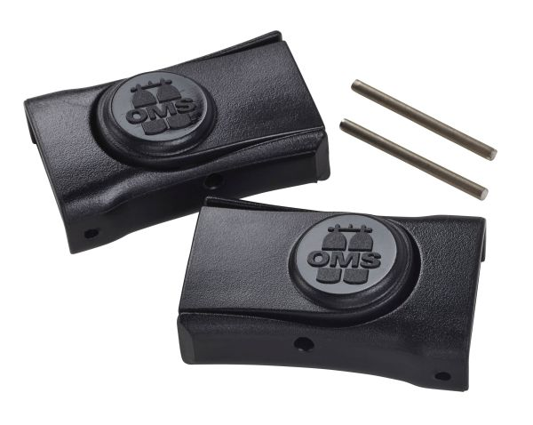 Mask buckles (pair) with 2 pins