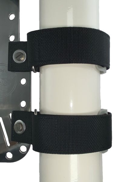 Mounting Straps Set (att. to backplate),for cyl. /w 115mm diameter or less